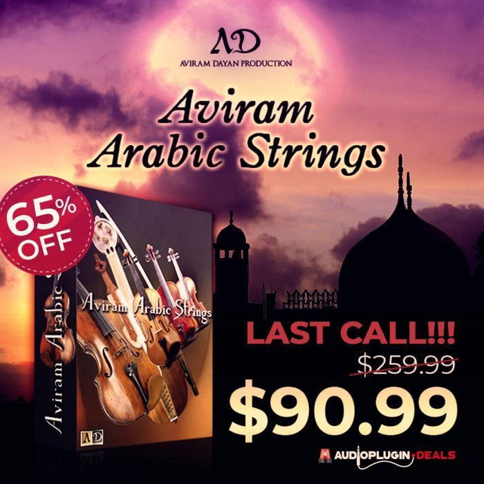 Save 65% on Aviram Arabic Strings by Aviram Dayan Production!