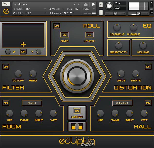 Ecliptiq Audio HEXA I Trailer Drum Kit