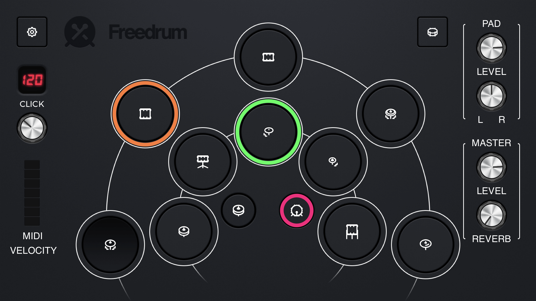 Freedrum updates its virtual drum kit app to v2 0 with new user
