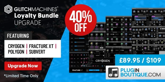 Glitchmachines Loyalty Upgrade 40 OFF