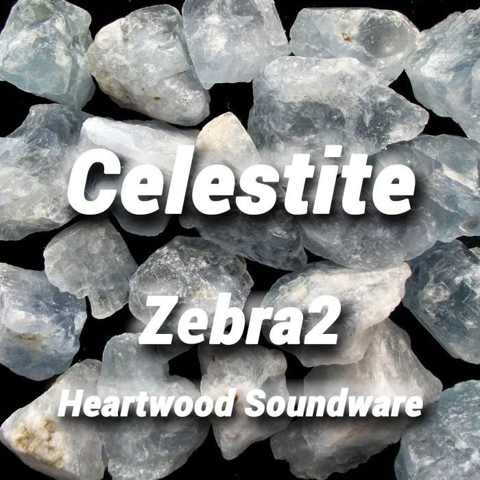 Heartwood Celestite for Zebra 2
