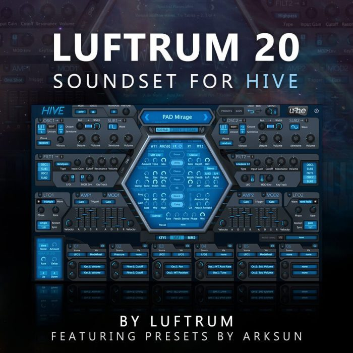 Luftrum 20 for u-he Hive