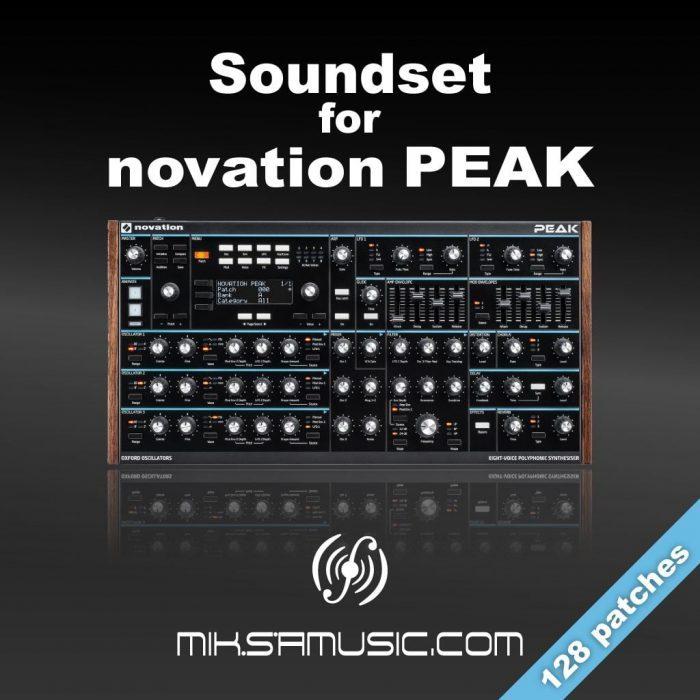Miksa Music Soundset for Novation Peak