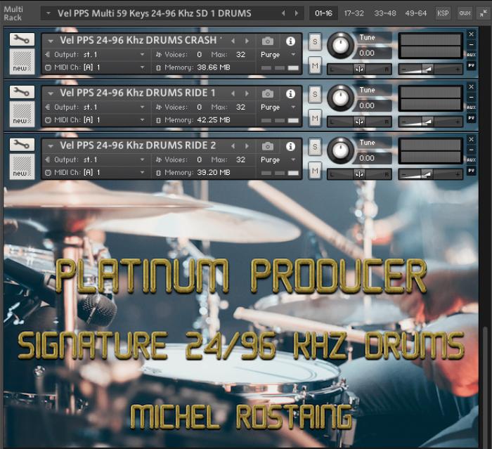 PPS Drums Kontakt Edition