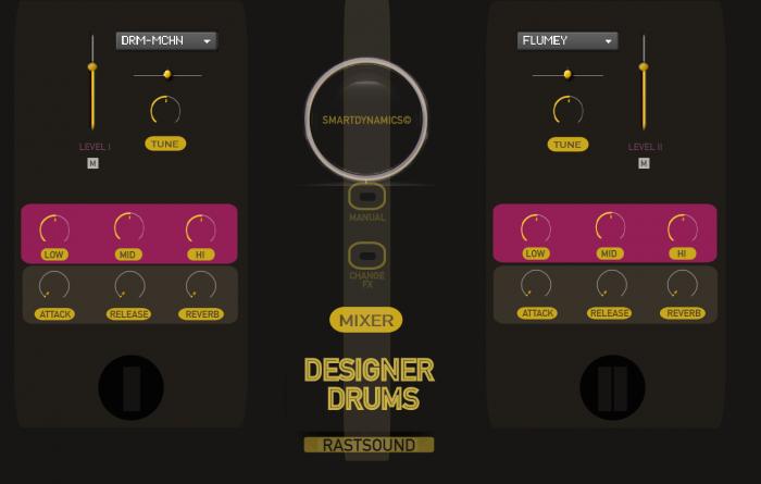 Rast Sound Designer Drums 1.5