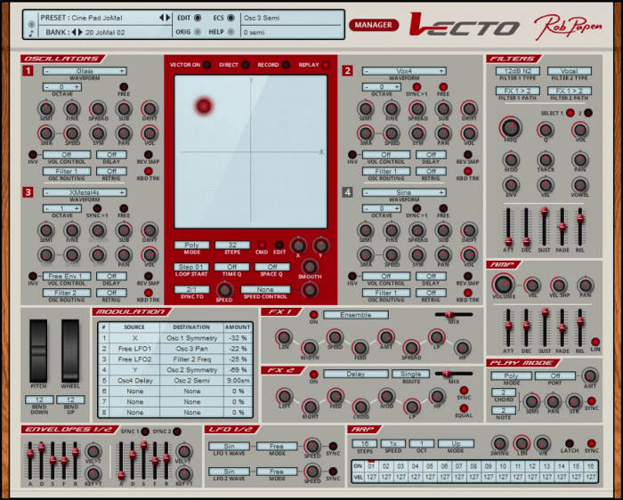 Rob Papen Vecto update