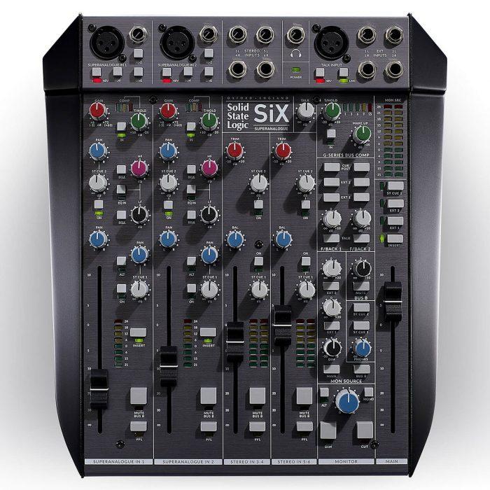 SSL SiX desktop mixer