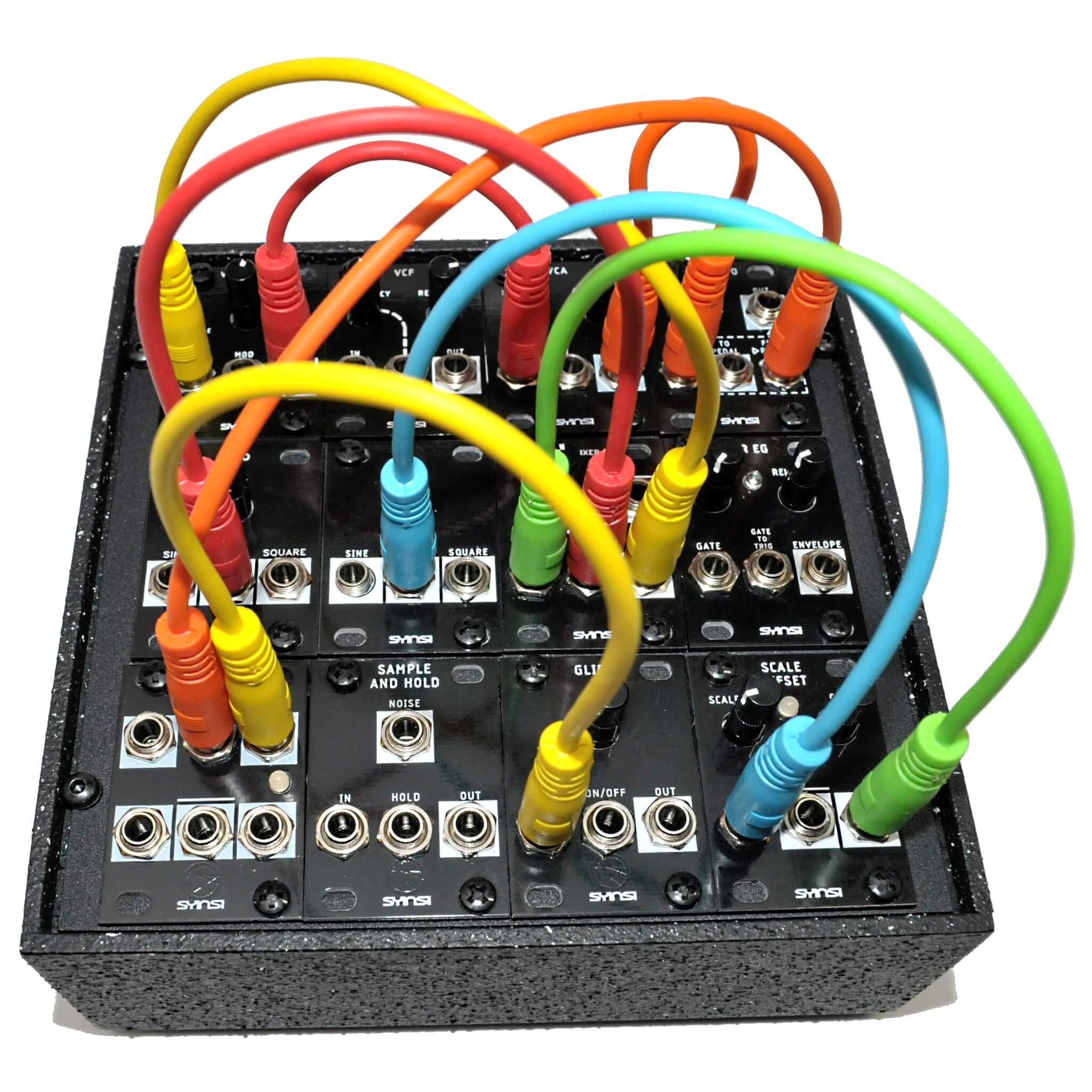 Syinsi's EuroTile expandable modular synthesizer coming to
