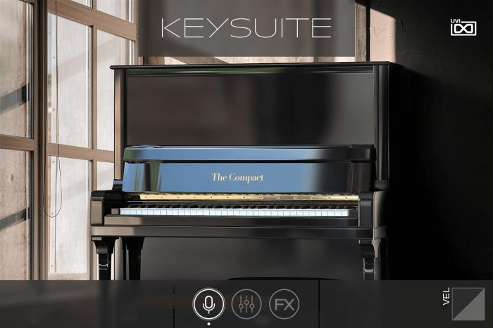 UVI Key Suite Acoustic Compact