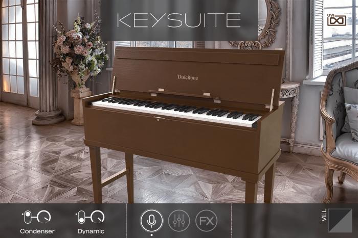 UVI Key Suite Acoustic Dulcitone