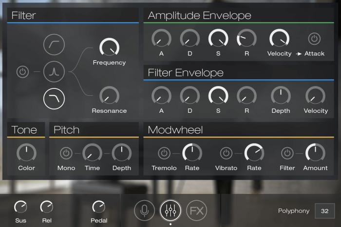 UVI Key Suite Acoustic GUI Edit