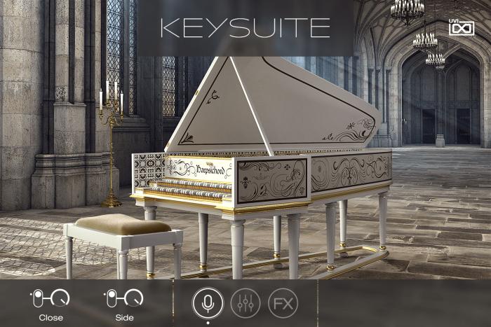 UVI Key Suite Acoustic Harpsichord