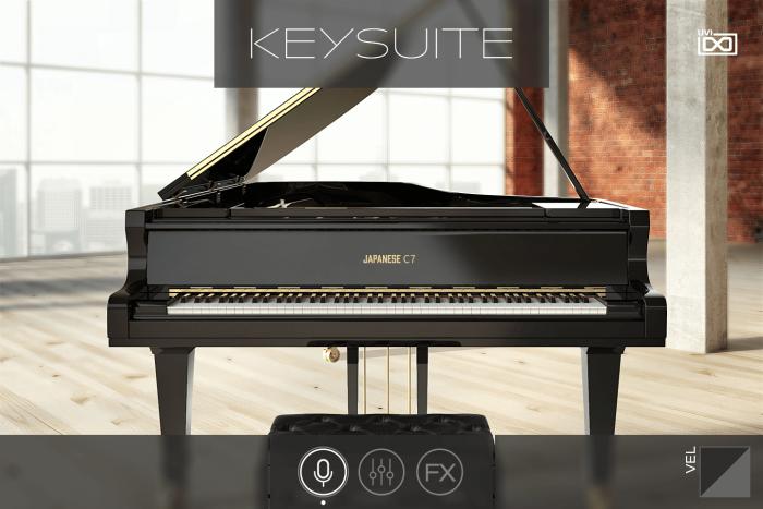 UVI Key Suite Acoustic Japanese C7