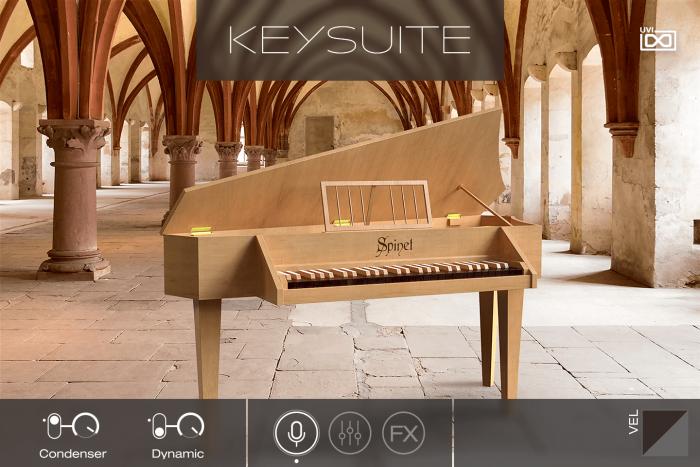 UVI Key Suite Acoustic Spinet