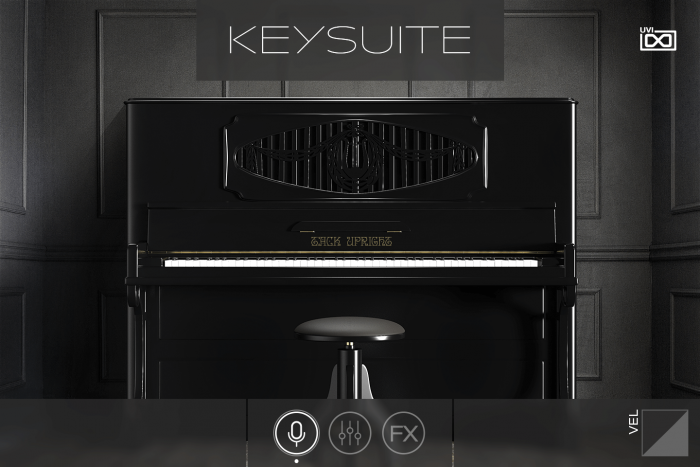 UVI Key Suite Acoustic Tack Upright