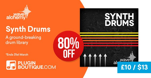 Wave Alchemy Synth Drums 80 OFF