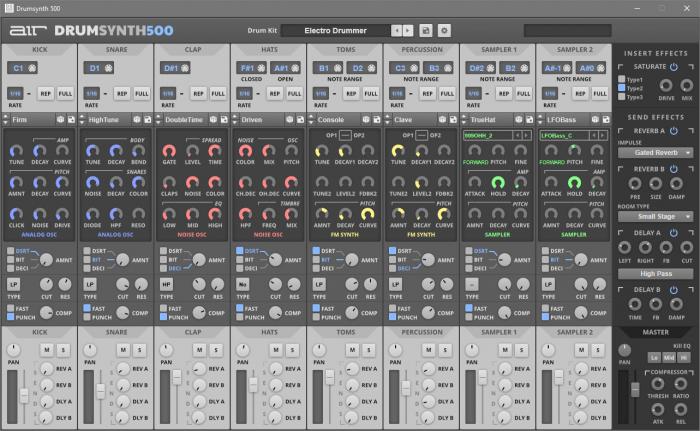 AIR Music Drum Synth 500