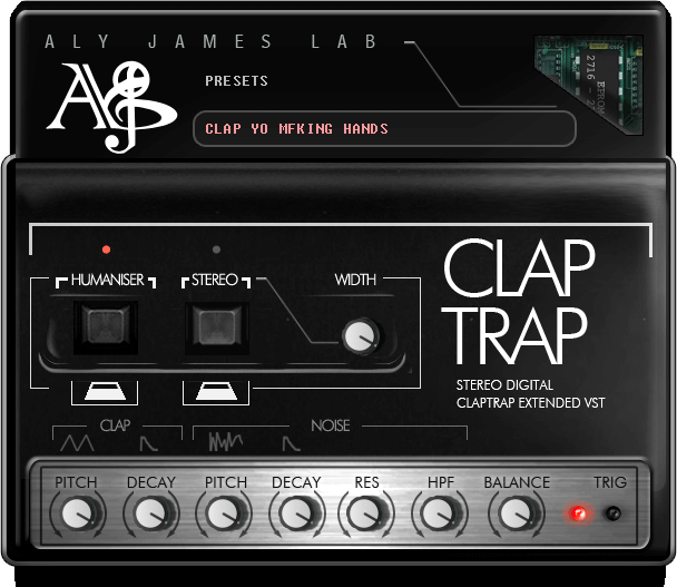 Aly James Lab Clap Trap