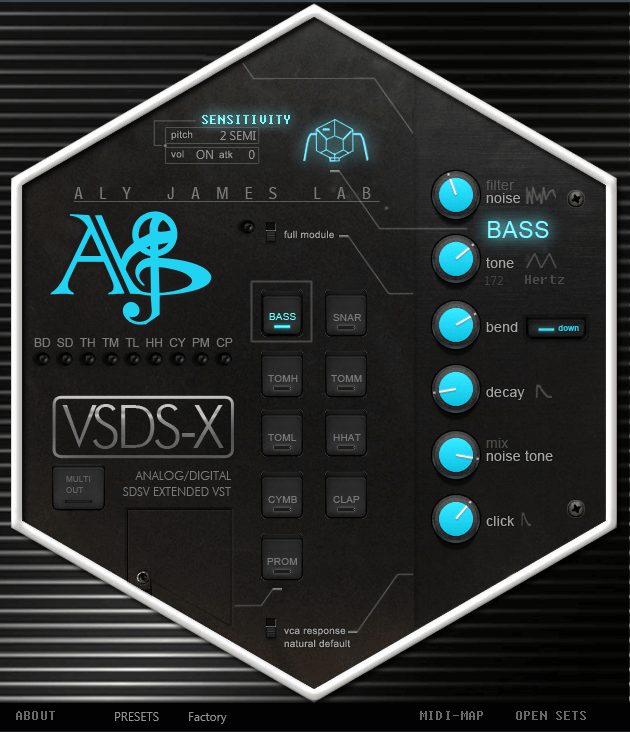 Aly James Lab VSDSX 2
