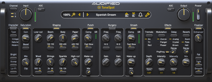 Audified TSAP GUI