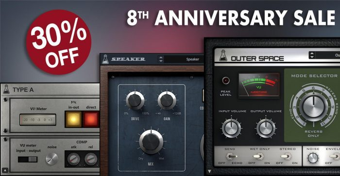 AudioThing 8th Anniversary Sale