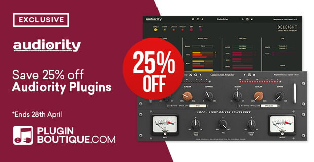 Audiority Plugins 25 OFF