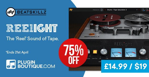 Beatskillz Reelight 19 USD