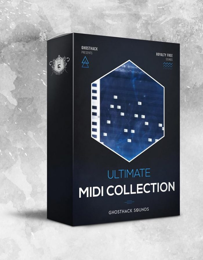 Ghosthack releases Ultimate MIDI Collection & Ultimate Trap and Hip