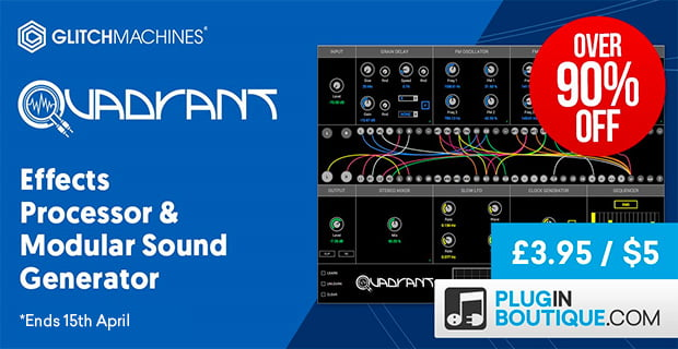 $5 Deal: Glitchmachines Quadrant modular sound generator & effects