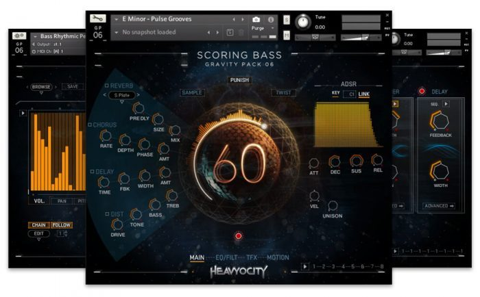 Heavyocity Scoring Bass GUI
