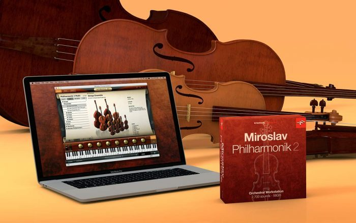 IK Multimedia Miroslav Philharmonik 2 sale