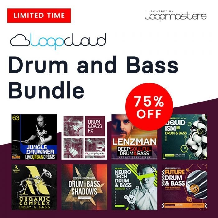 Loopmasters Loopcloud Drum & Bass Bundle