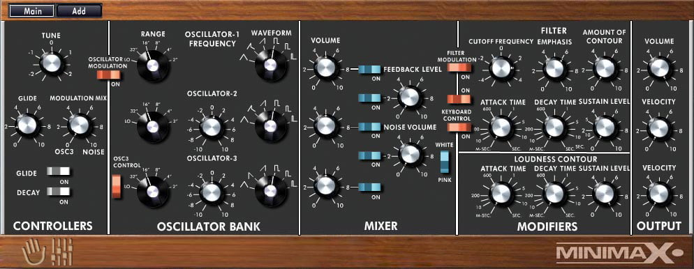 MakeProAudio intros Dino Park high-end modelling synthesizer
