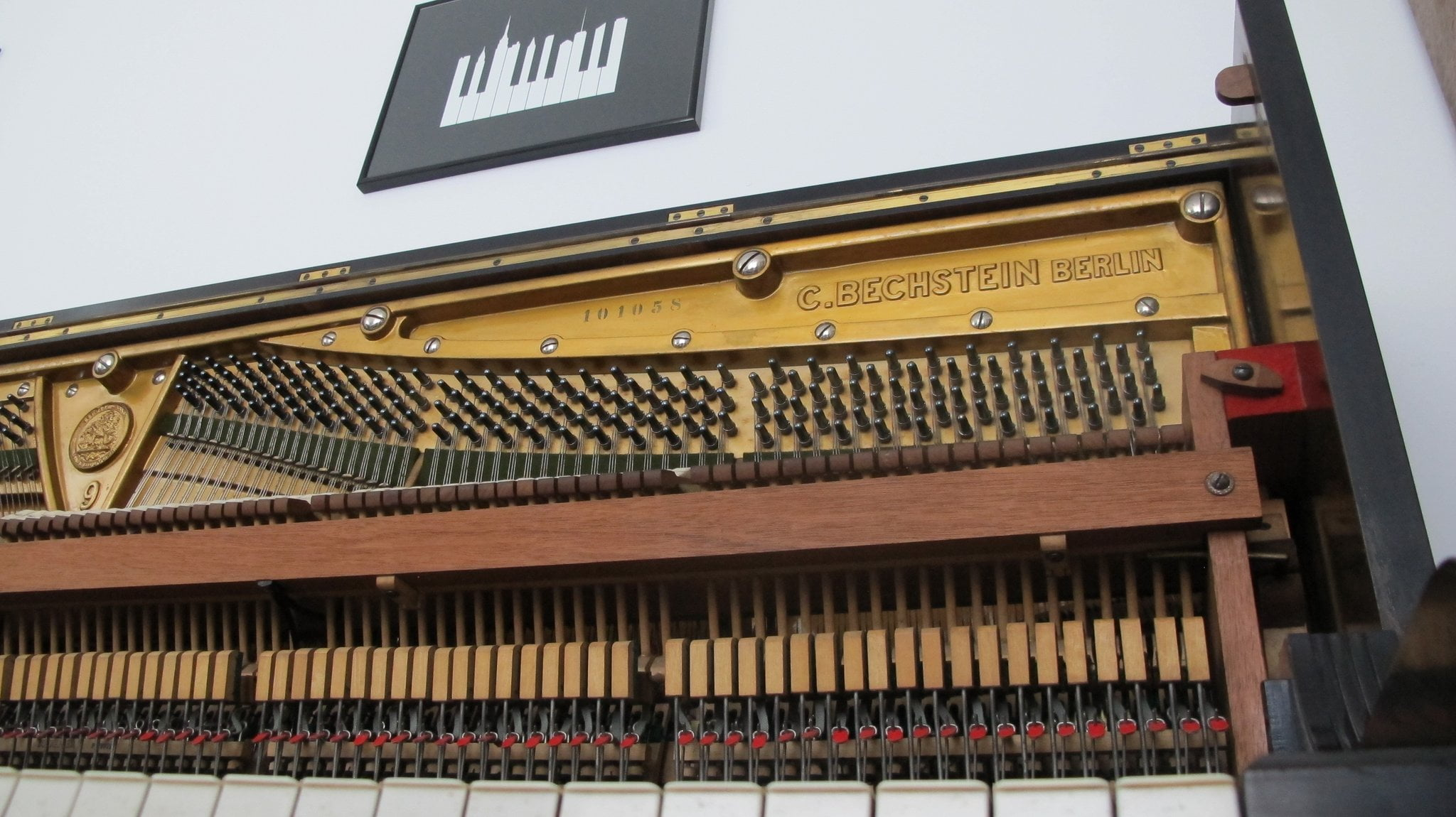 Free 1911 Bechstein Upright for Kontakt by Andrew Ward