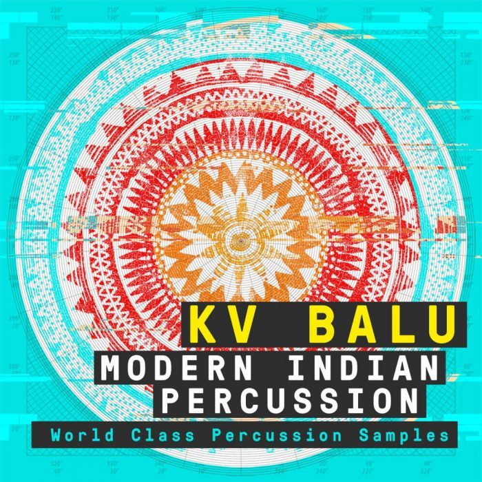 Producer Loops KV Balu Modern Indian Percussion