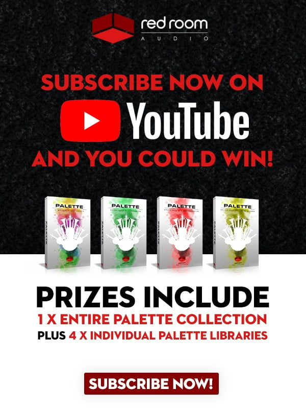 Red Room Audio YouTube Giveaway