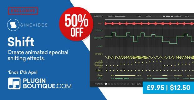 Sinevibes Shift Sale 50% OFF