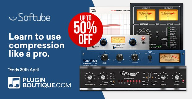 Softube Compression Sale 50 OFF