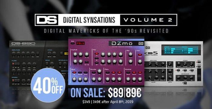 UVI Digital Synsations Vol 2 sale