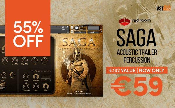 Saga Acoustic Trailer Percussion
