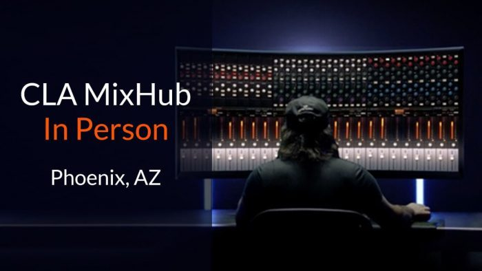 Waves CLA MixHub in person