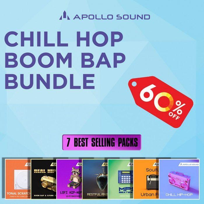 Chill Hop & Boom Bap Bundle: Get 60% off 7 Apollo Sound