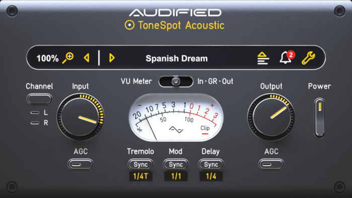 Audified ToneSpot Acoustic Express
