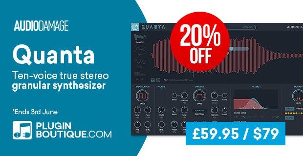 Audio Damage Quanta 20 OFF