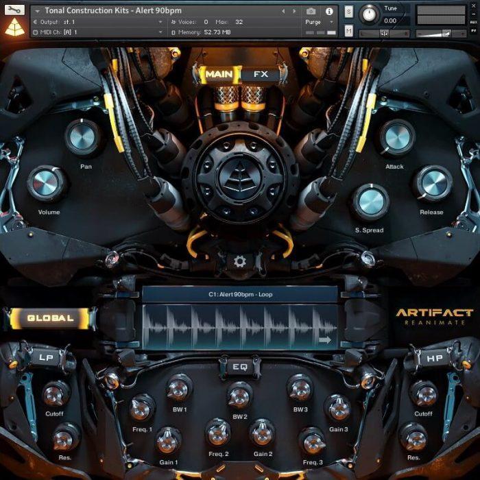 Audio Imperia Artifact Reanimate