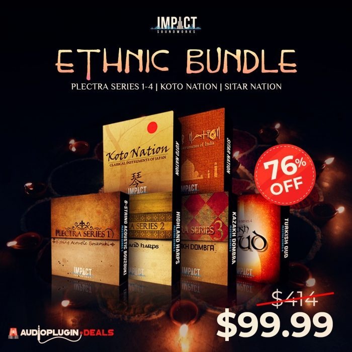 Audio Plugin Deals Impact Soundworks Ethnic Bundle