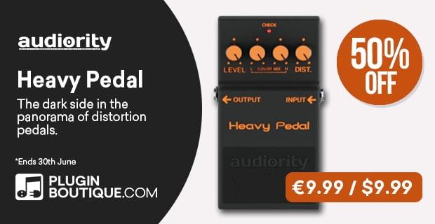 Audiority HeavyPedal PluginBoutique