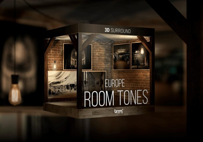 BOOM Library Room Tones Europe