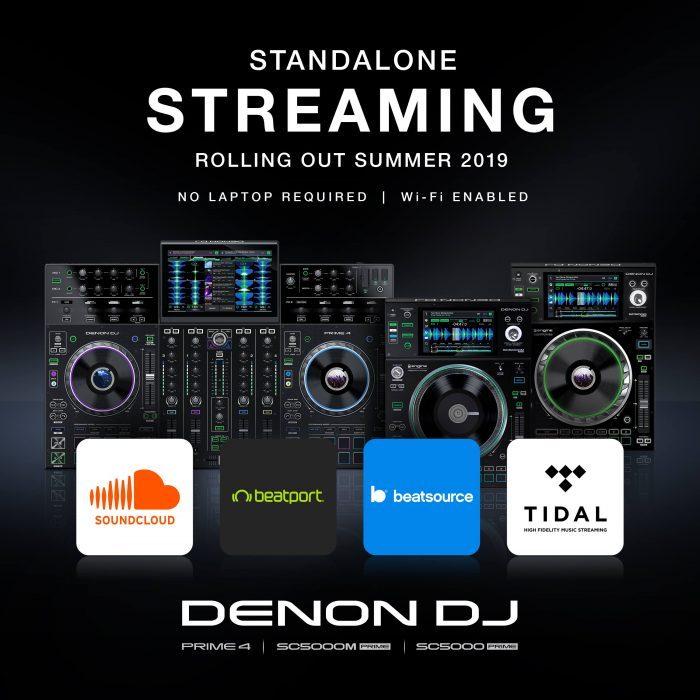 Denon DJ Streaming