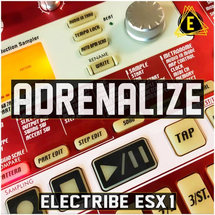 Electronisounds Electribe ESX 1 Adrenalize